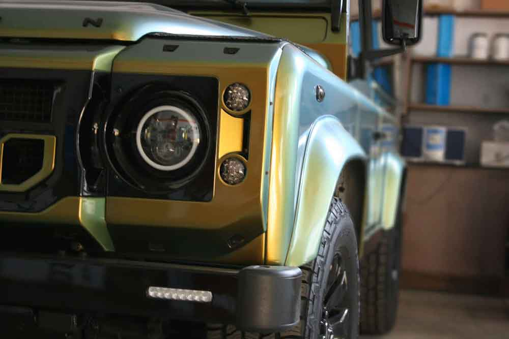 Wrapping Car Wrapping Defender Land Rover