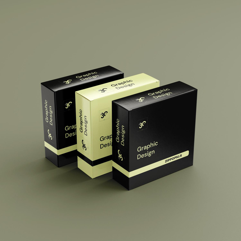 Studio grafica confezione packaging
