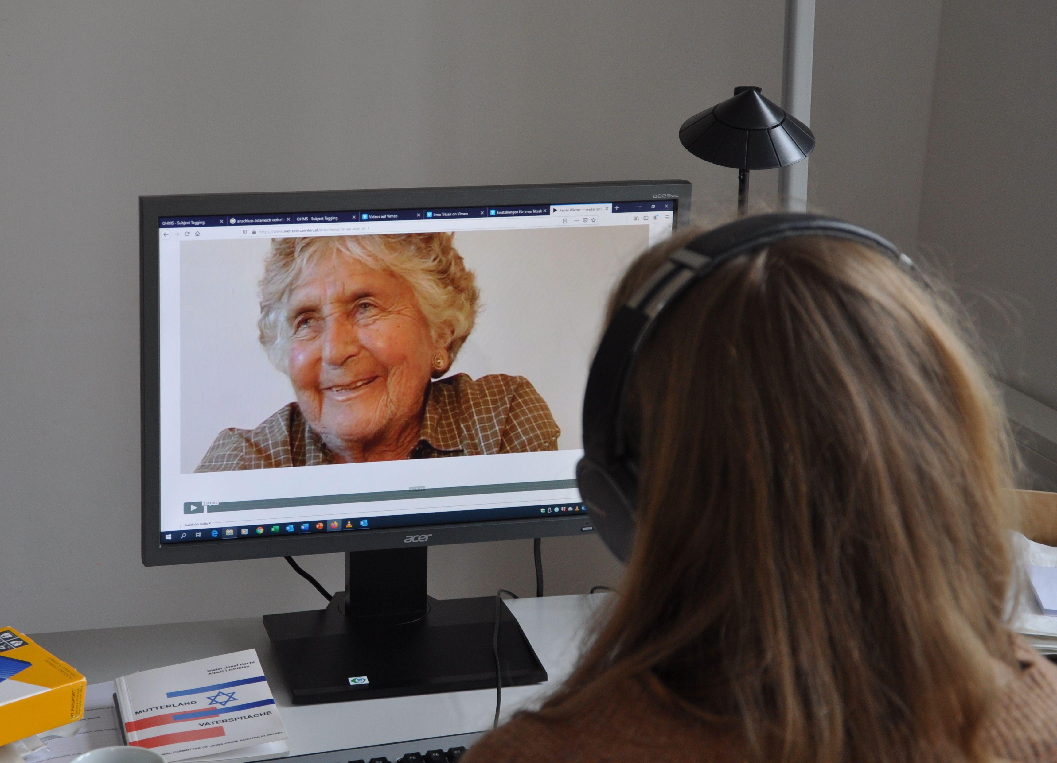 Online-Plattform mit ZeitzeugInnen-Interviews