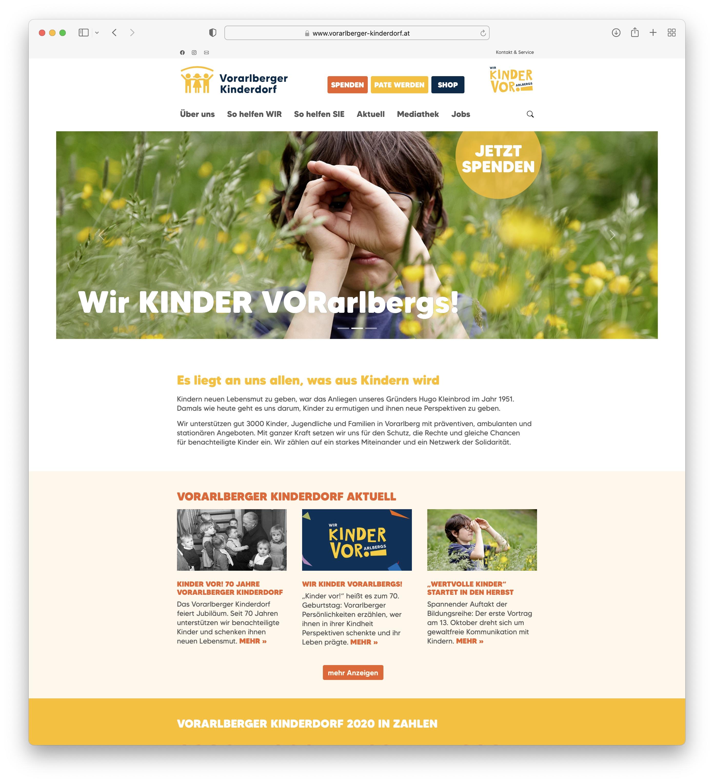 Relaunch der Website mittels Plone 6.0 inkl. Neuaufbau Blogseite