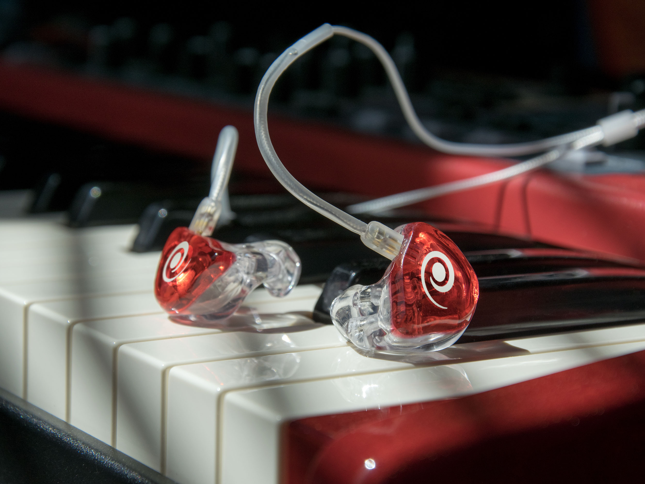 Variphone In-Ears op Nord Stage keyboard
