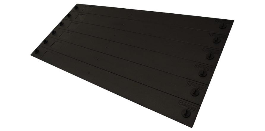"EziBlank® Blanking Panel 23"" 6RU Universal - Black"