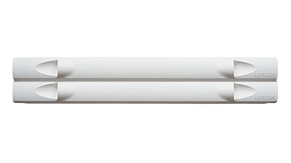 "HotLok® Blanking Panel, 19""W, 2U, White"