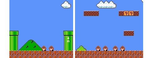 Mario : un jeu d'apprentissage par essaieereur