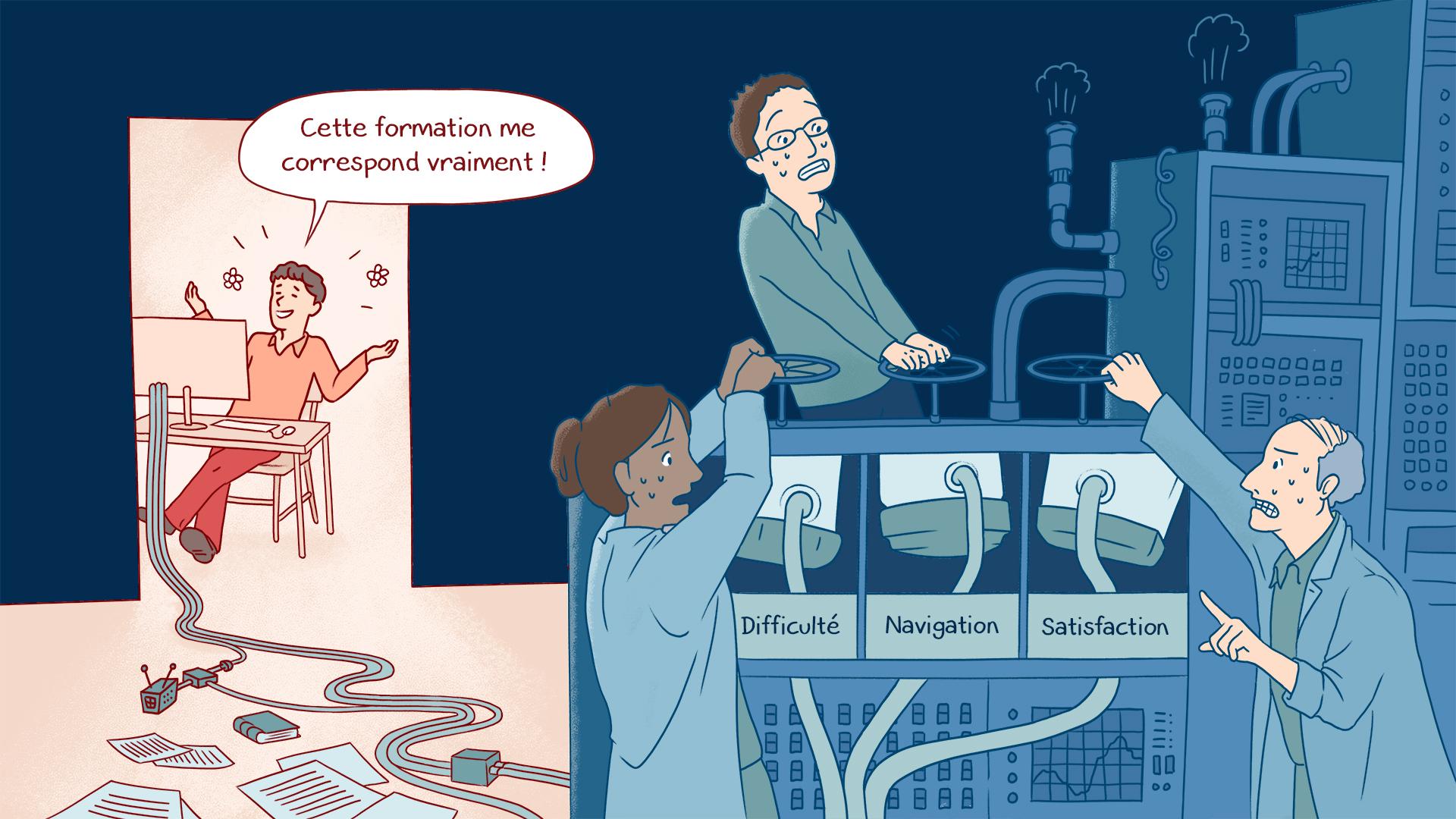 Adaptive learning - Apprentissage adapté dans les entreprises, les PME, les institutions