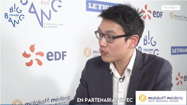 Son Thierry Ly (Didask) : l'Intelligence artificielle contient un gros enjeu dans la création des contenus de formation - Big Bang Eco du Figaro 2018