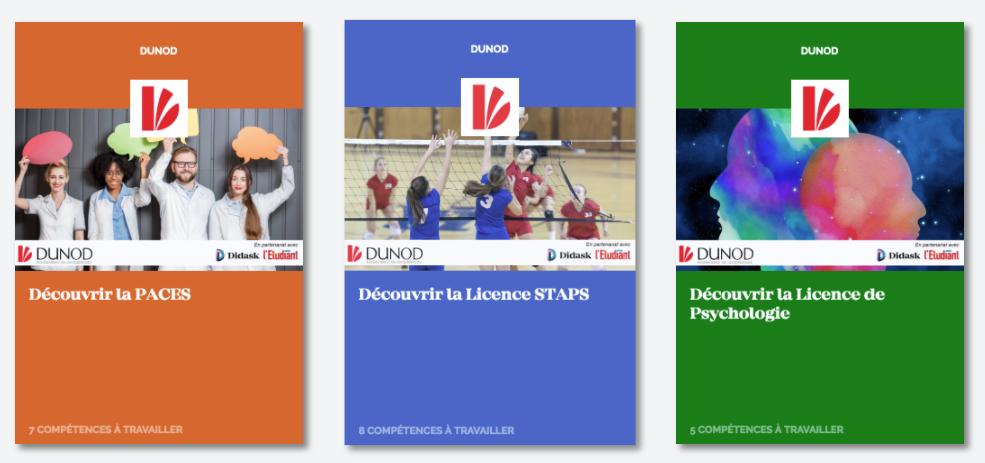 Dunod, ouvrages orientation et formations