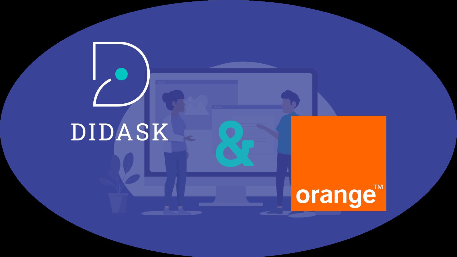 logos Didask et Orange