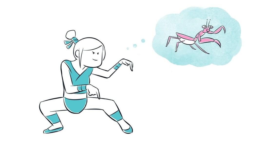 Raccourcis mentaux et apprentissage : exemples illustré d'une apprenante qui s'entraine en employant la méthode du raccourci mental