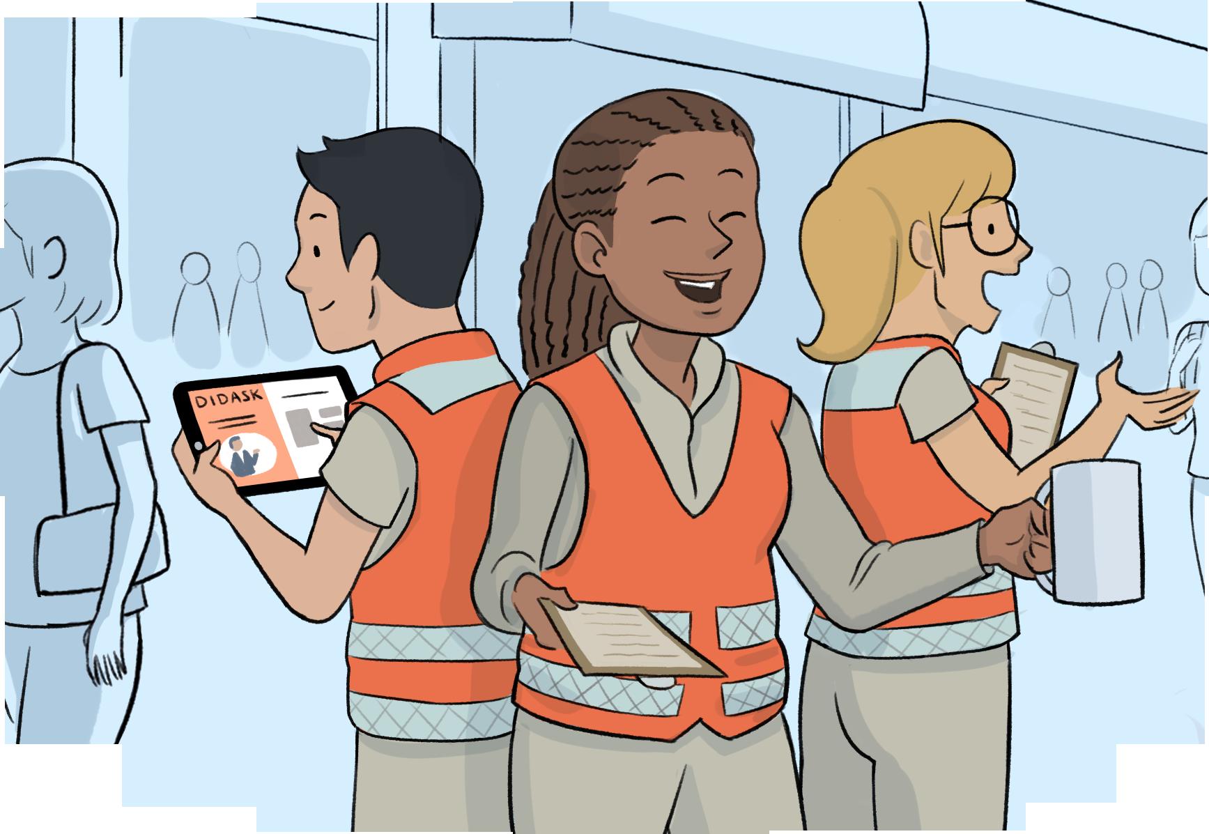 Formation de bénévoles avec le digital learning