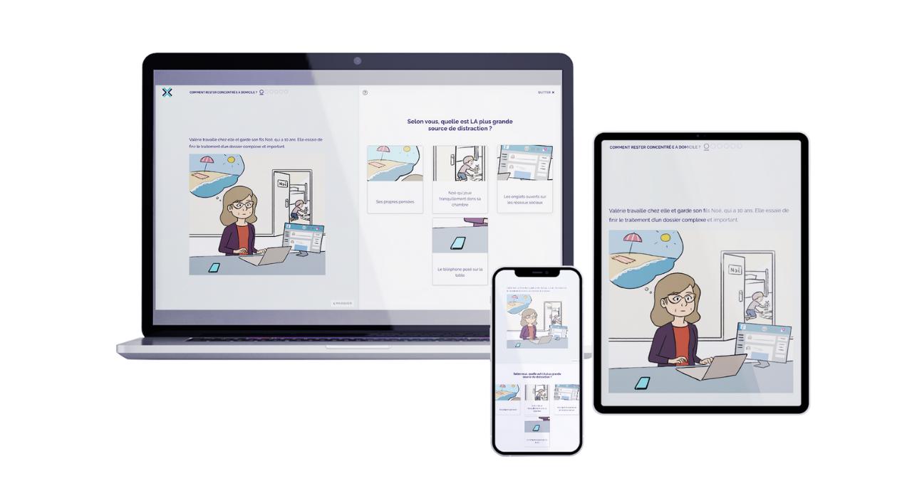 Parcours digital learning de Didask et Cog'X