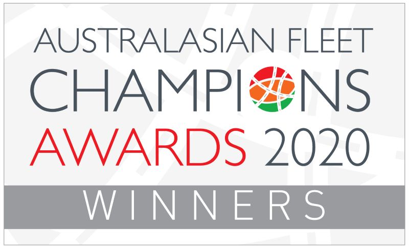 Australasian Fleet Champions Awards 2020 winners badge