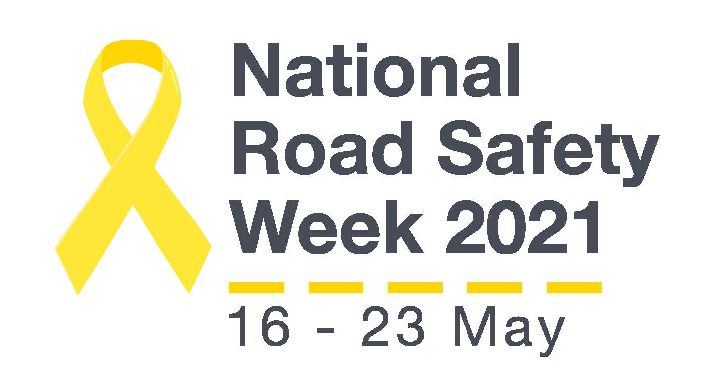 National Road Safety Week Australia Banner 16-23 May 2021.
