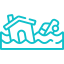 Residential Flood Insurance Icon