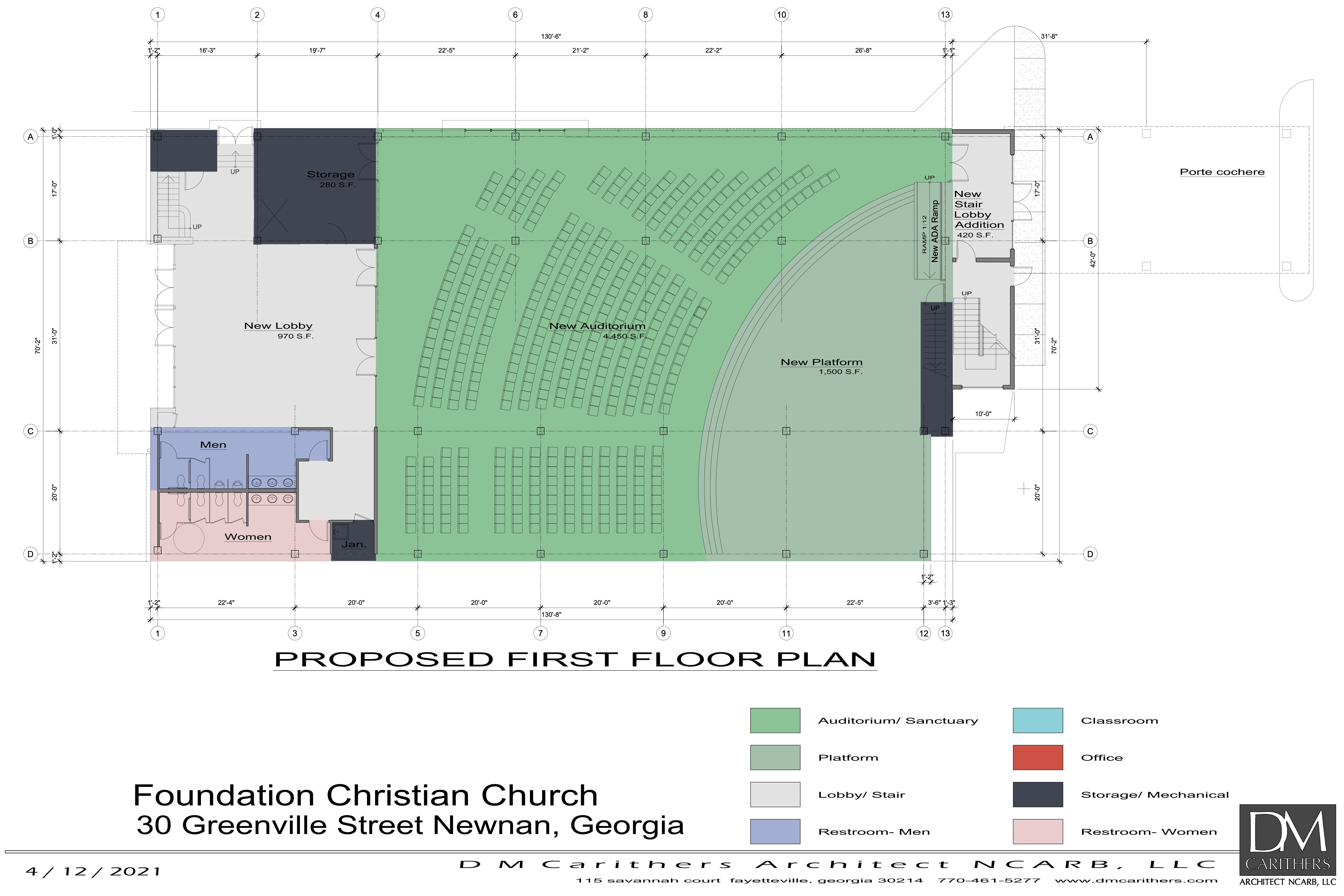 First Conceptual Floor Plan