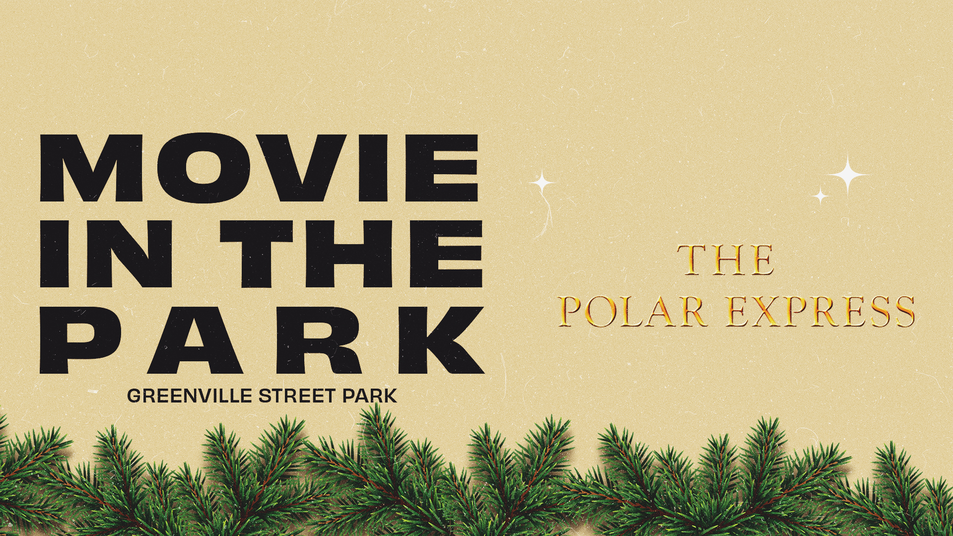Movie In The Park: The Polar Express