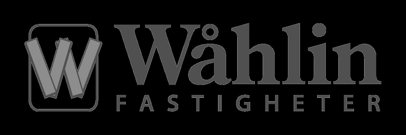 Wåhlin Fastigheter Logo