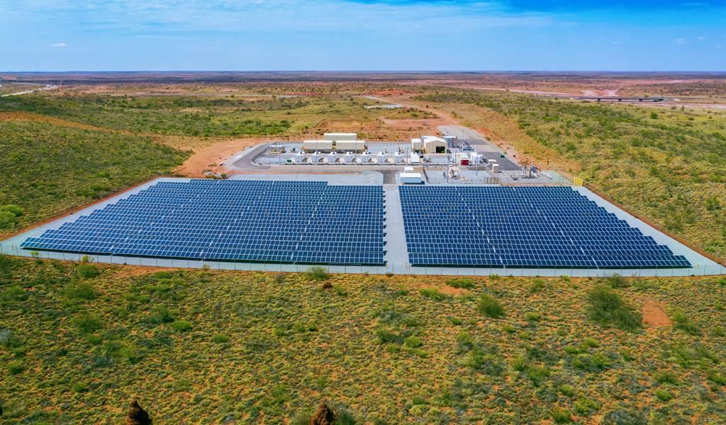 Senare i år ska anläggningen tas i bruk. foto: Horizon Power