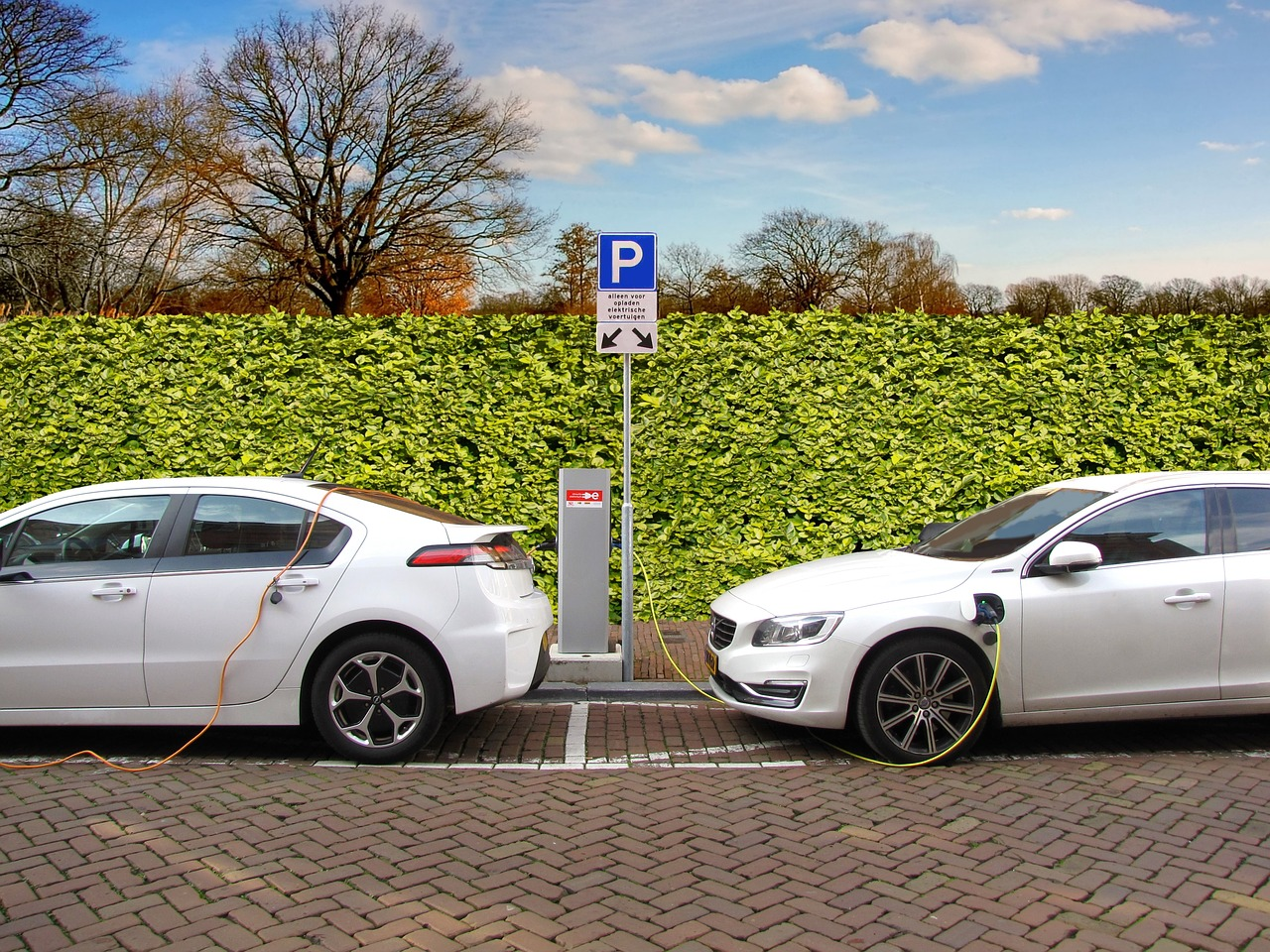 18% av bilarna i Solna är elfordon. Foto: Creative Commons.