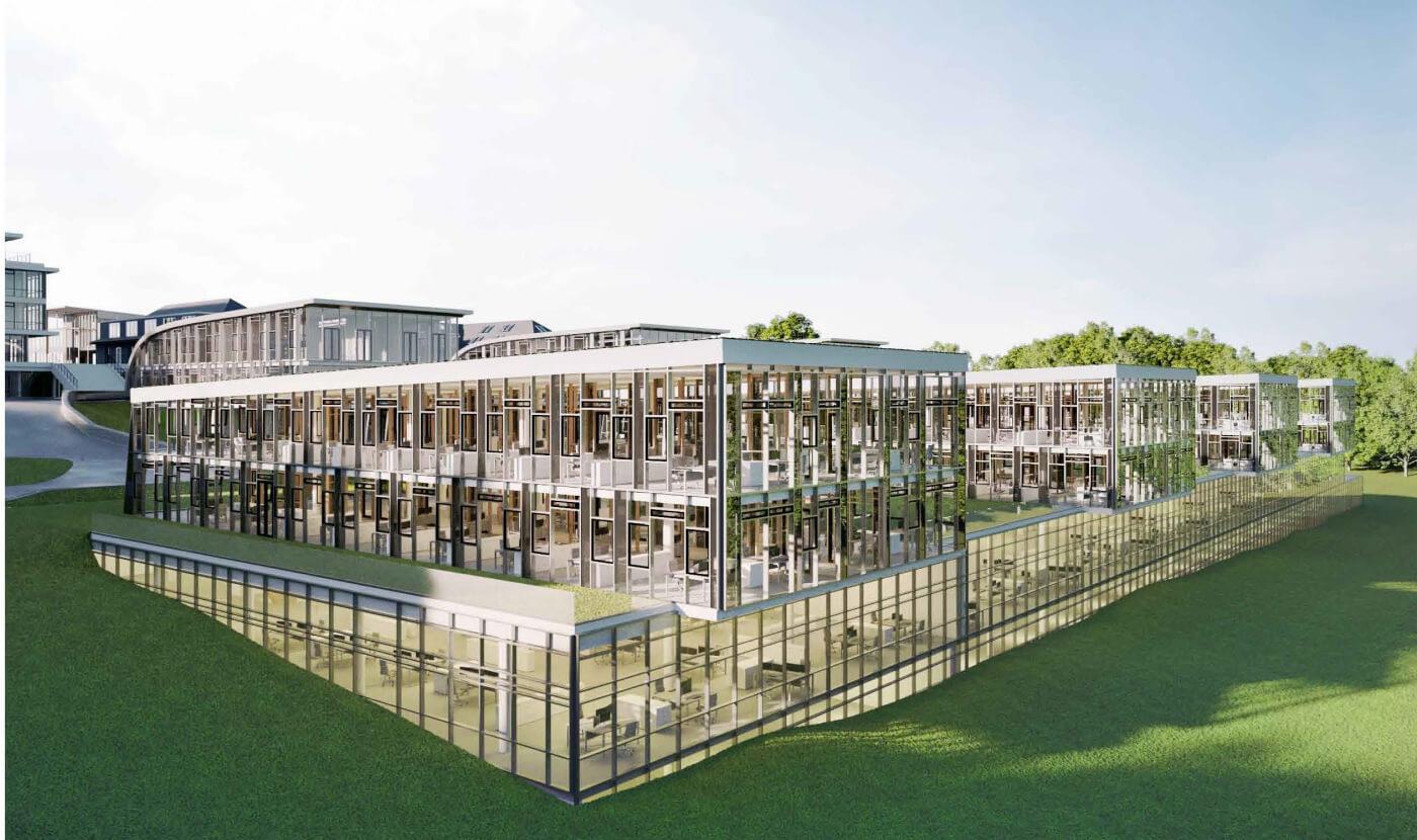 Forschungs-/ Labor-/ Produktionsgebäude Miltenyi Biotec– H7