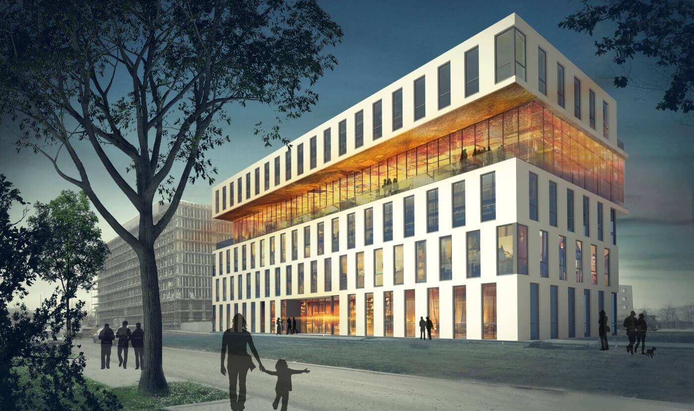 Infosim Bürogebäude