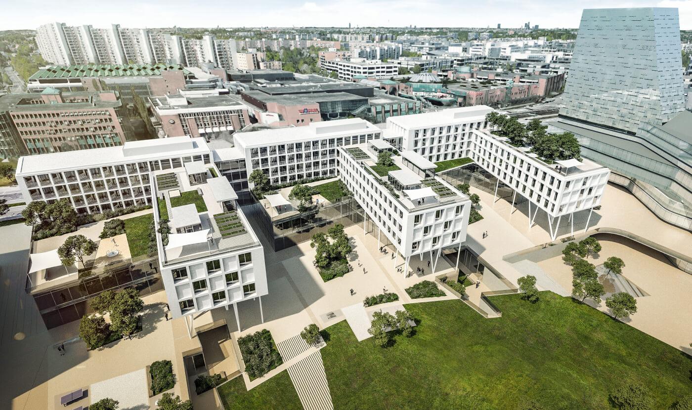 Neue Mitte Perlach - Hotel I Shopping I Wohnen