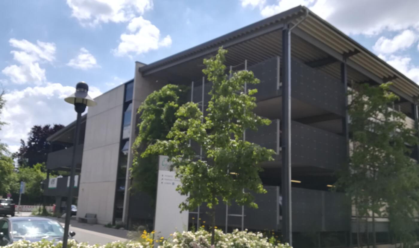 Klinikum Fürth Parkhausaufstockung