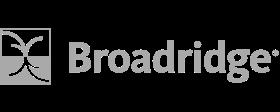 Broadridge logo gray