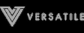 Versatile logo gray