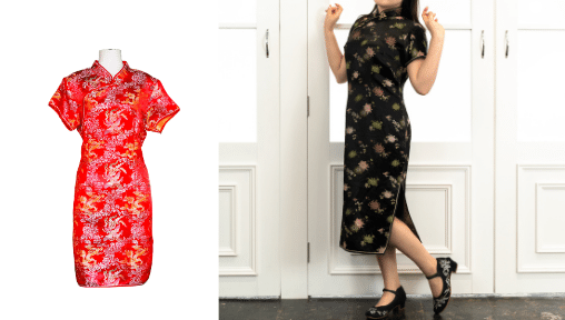 TaF.tc's Heritage Apparel (Cheongsam) course - Younger women who wear the cheongsam see it as a modern fashion outfit rather than a traditional Chinese dress. In this class, you will learn how to adjust the pattern of a cheong sam, and adjust it to fit your silhouette.