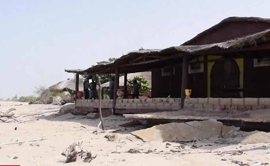 Sea level rise is destroying coastal communities in Senegal