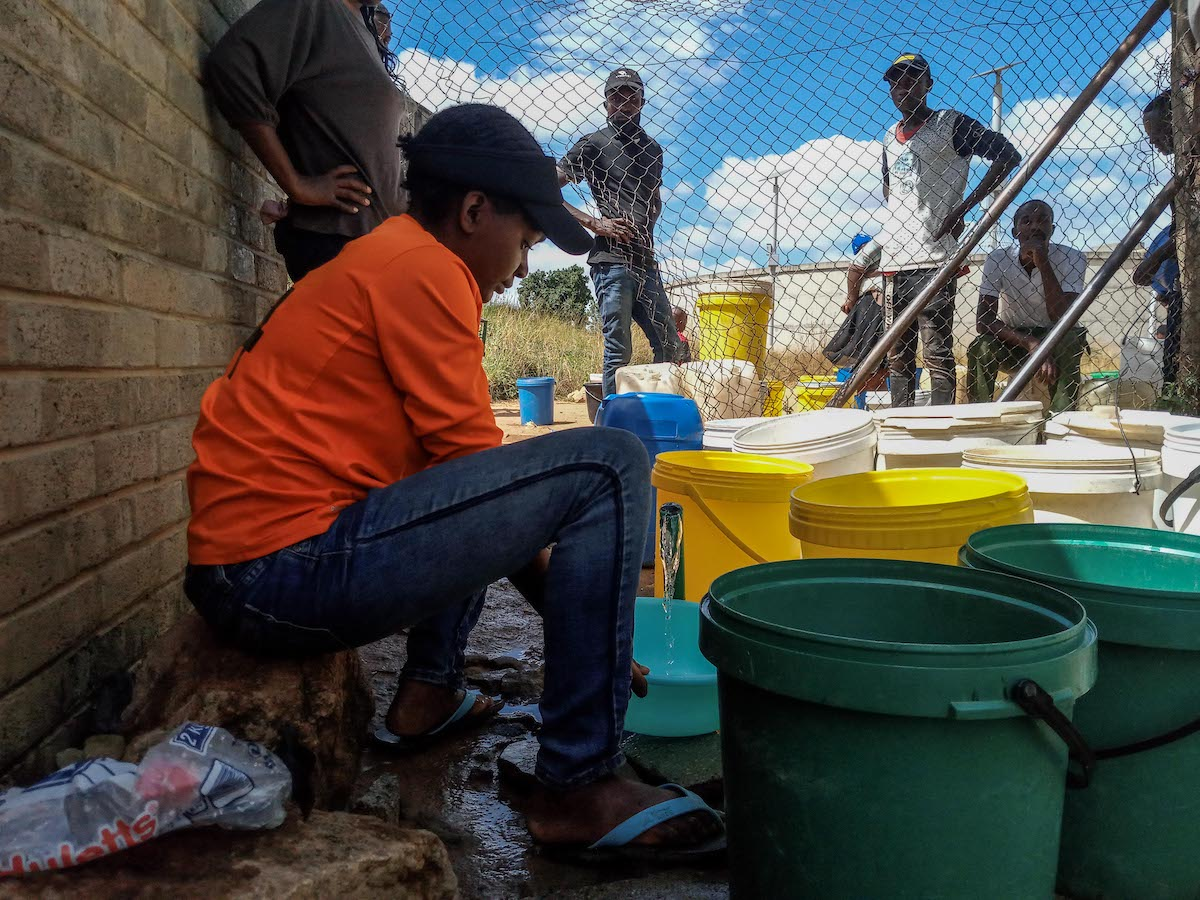 Environmental activists in Zimbabwe's capital city up in arms with authorities over an unsustainable solution to water problems