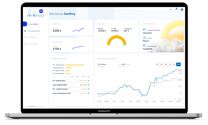 Application jackfund sur macbook
