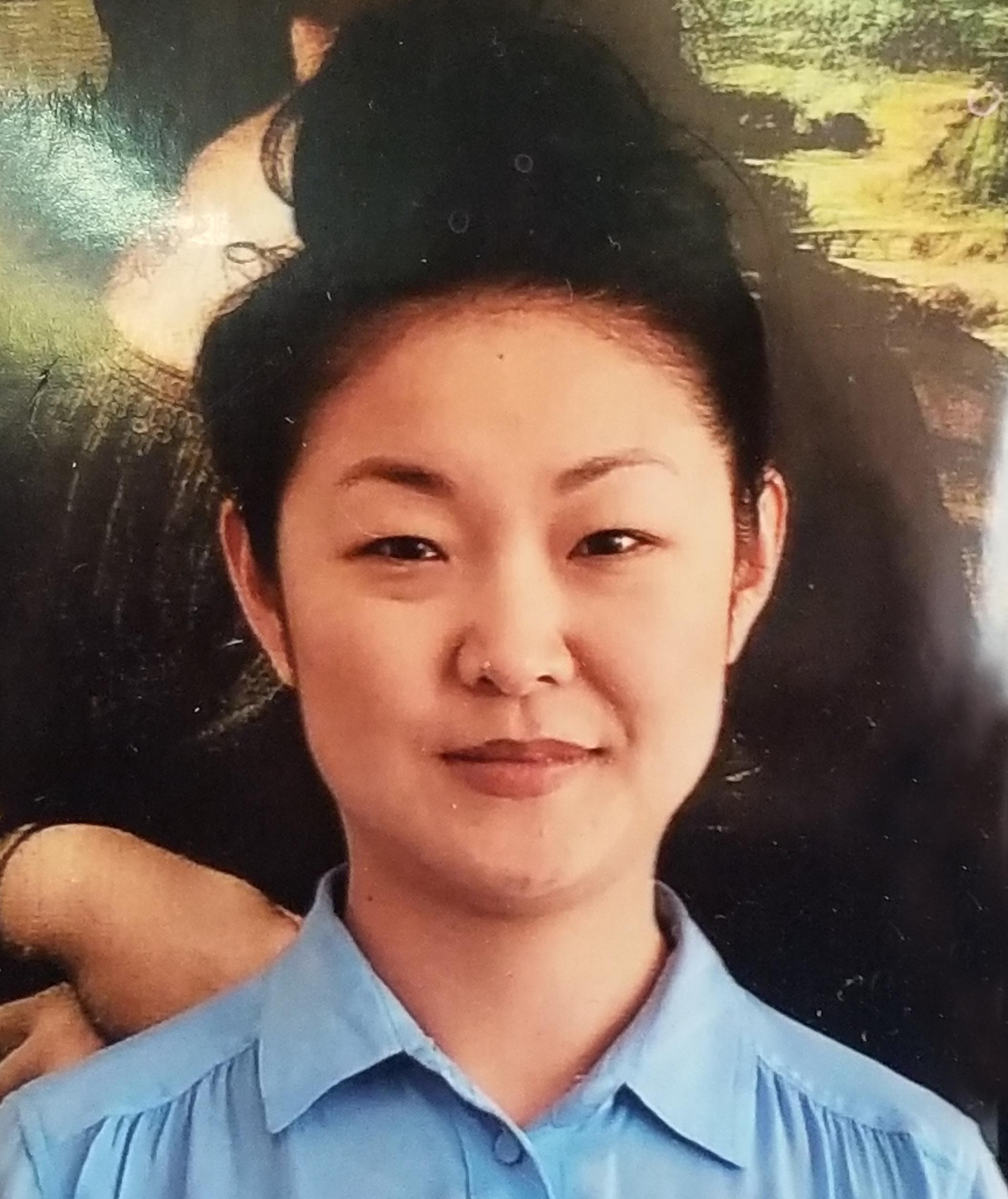 Photo of Ms. Cho, our Math teacher.