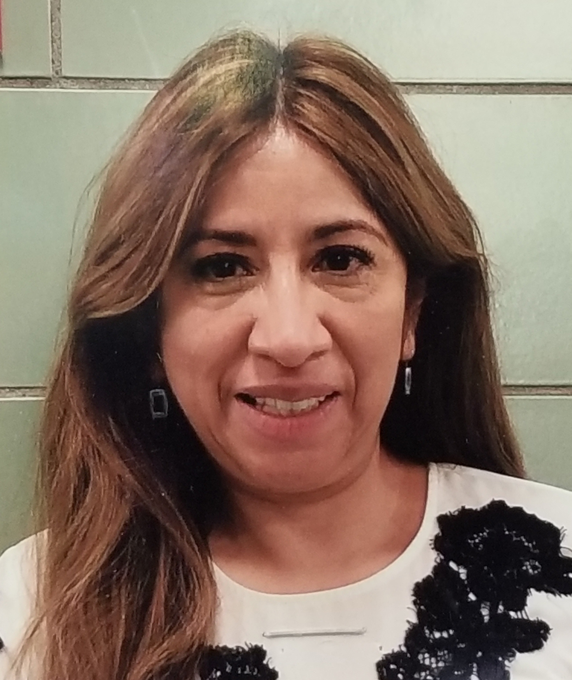 Photo of Ms.Elmore, our Spanish teacher.