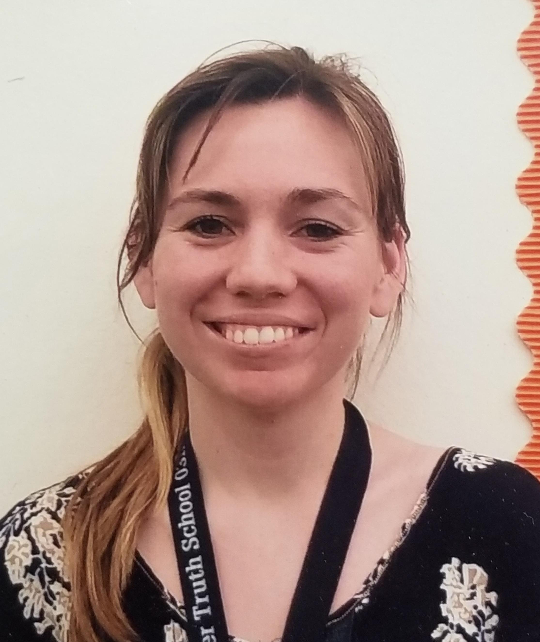 Photo of Ms. Casey our 3rd grade teacher.