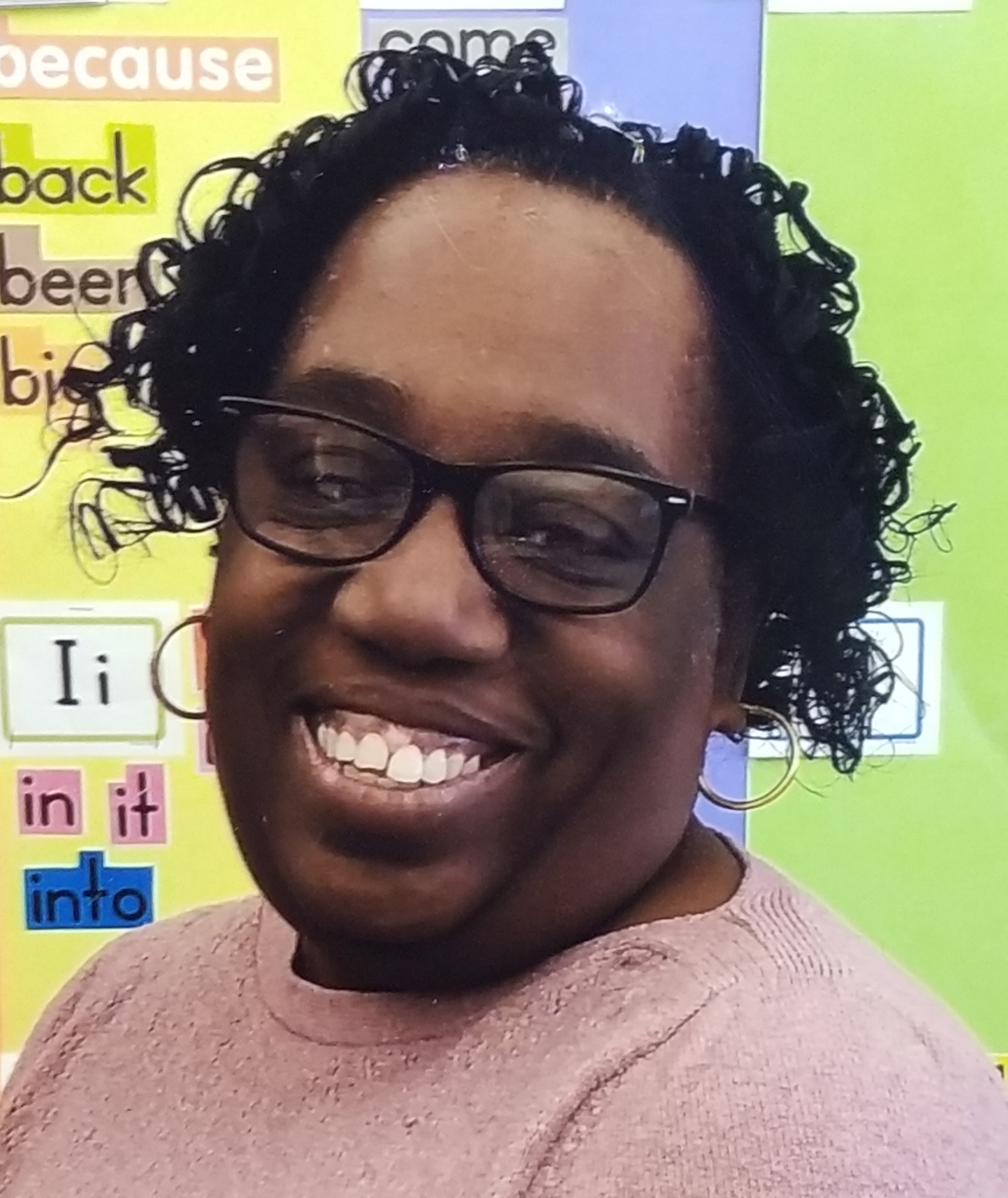 A photo of Ms.Gibson Brown, our Pre-K teacher.