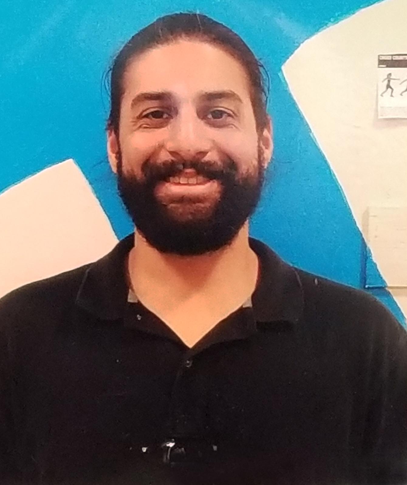 A photo of Mr.Felix, our Physical Education teacher.