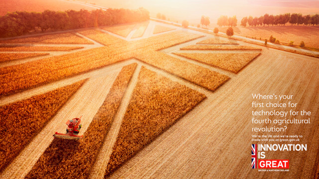Export opportunities for AgriTech companies considering relocating to the UK