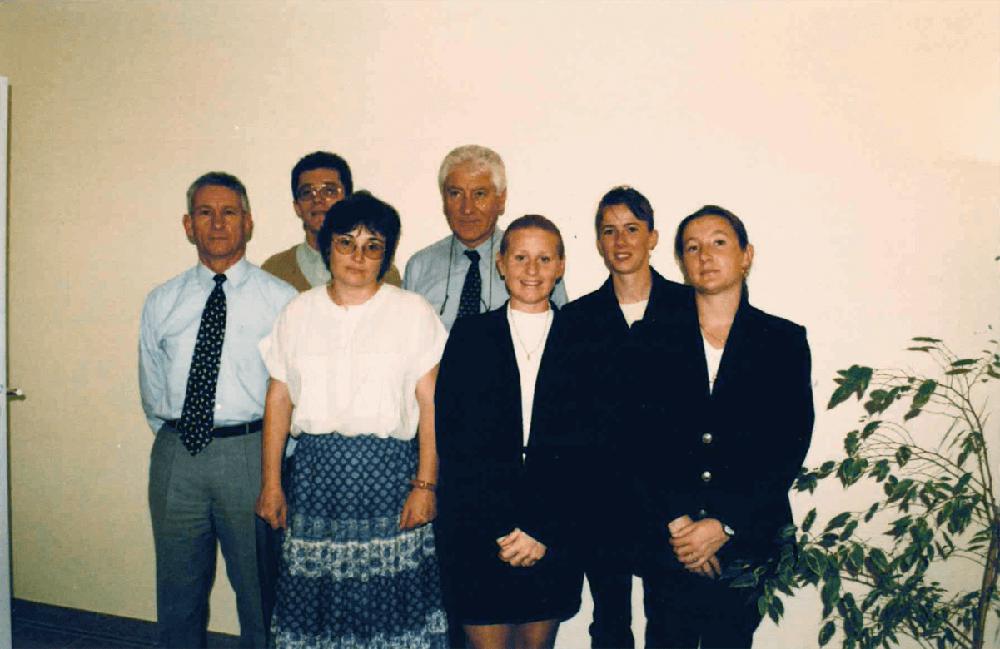 Photo de l'équipe dans les années 90-2000