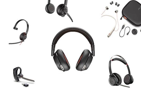 Internet phone system headsets