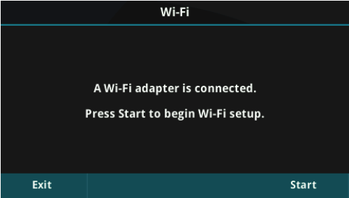 Wifi Connected Prompt