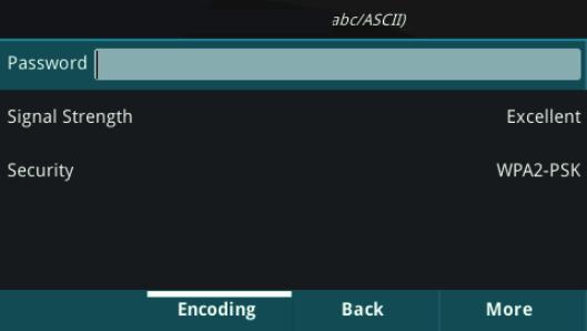 Wifi Credentials