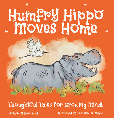 Humfry Hippo Moves Home children's book