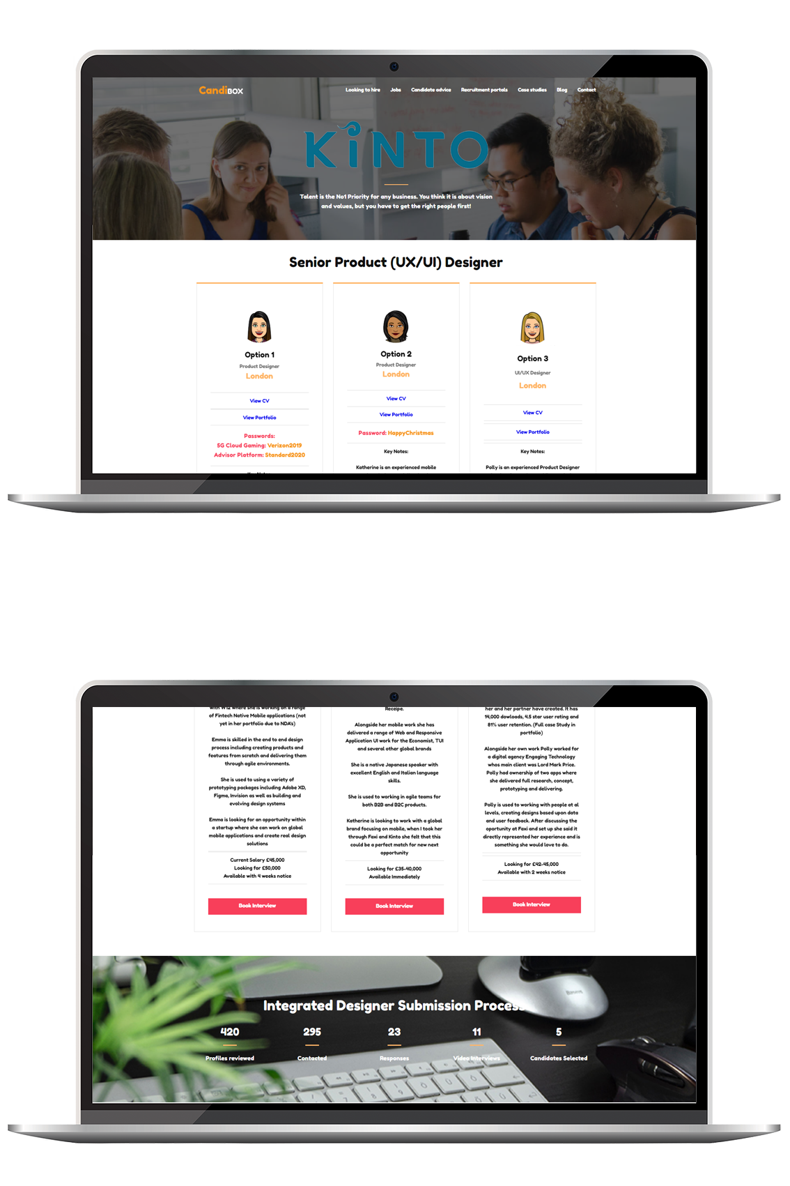 We delivered a campaign that attraced native mobile app product designers. We showed the opportunity as one that they would want to investigate and see as a potential career within a specialist mobile environment