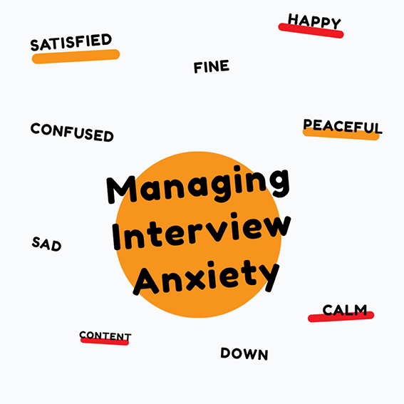 Interviews will always trigger anxiety and this most likely will not change regardless of if we interview face to face or remotely. We can't fix this as it's all part of human nature (i.e., fight or flight), but we hope that we can share our top three pre and post-interview coping strategies.