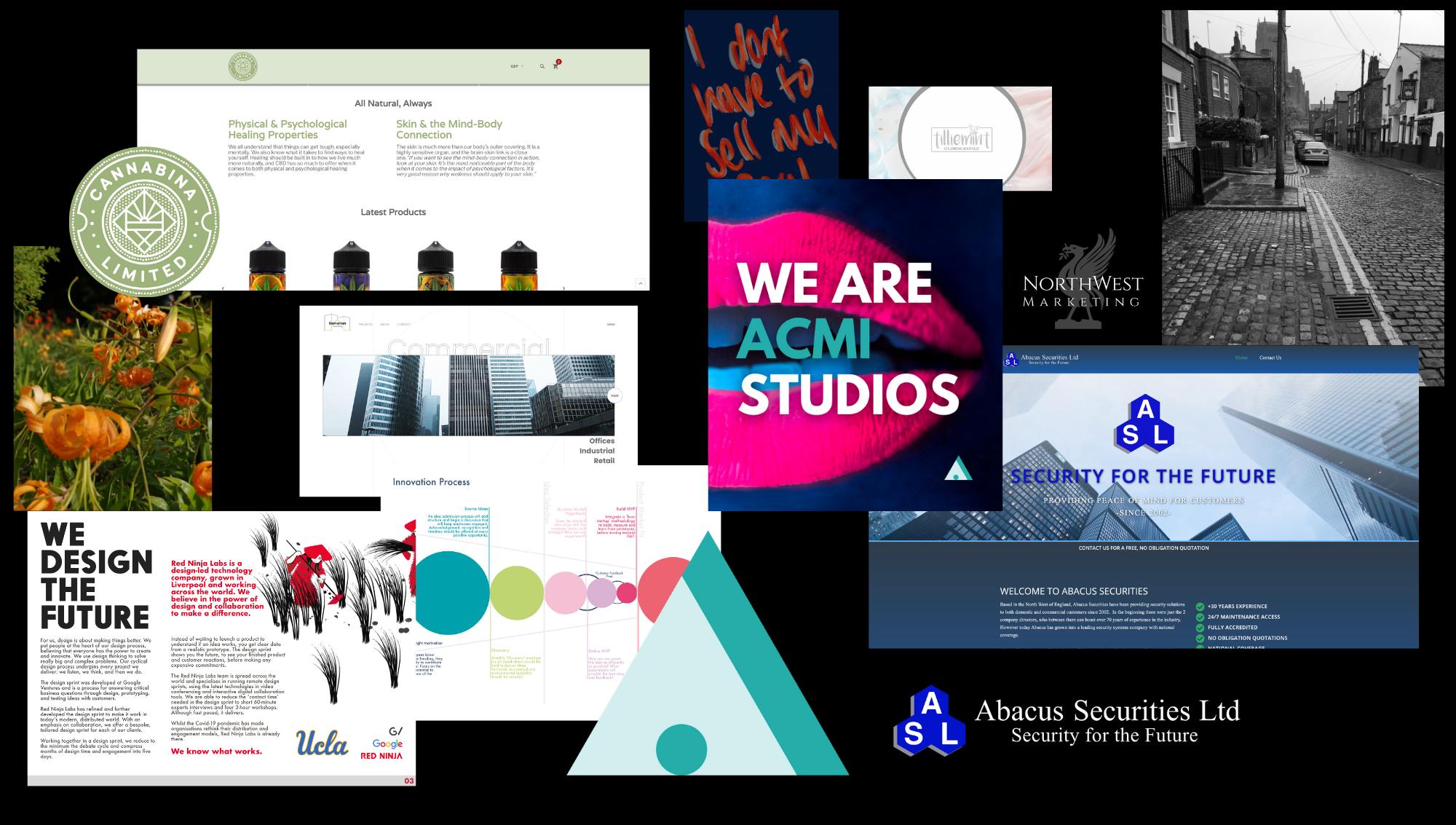 ACMI Studios Web design seo liverpool