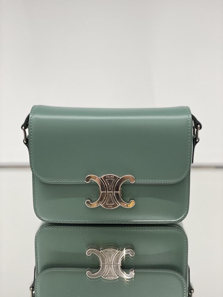 'TEEN TRIOMPHE' BAG IN CELADON, RM15,500, CELINE