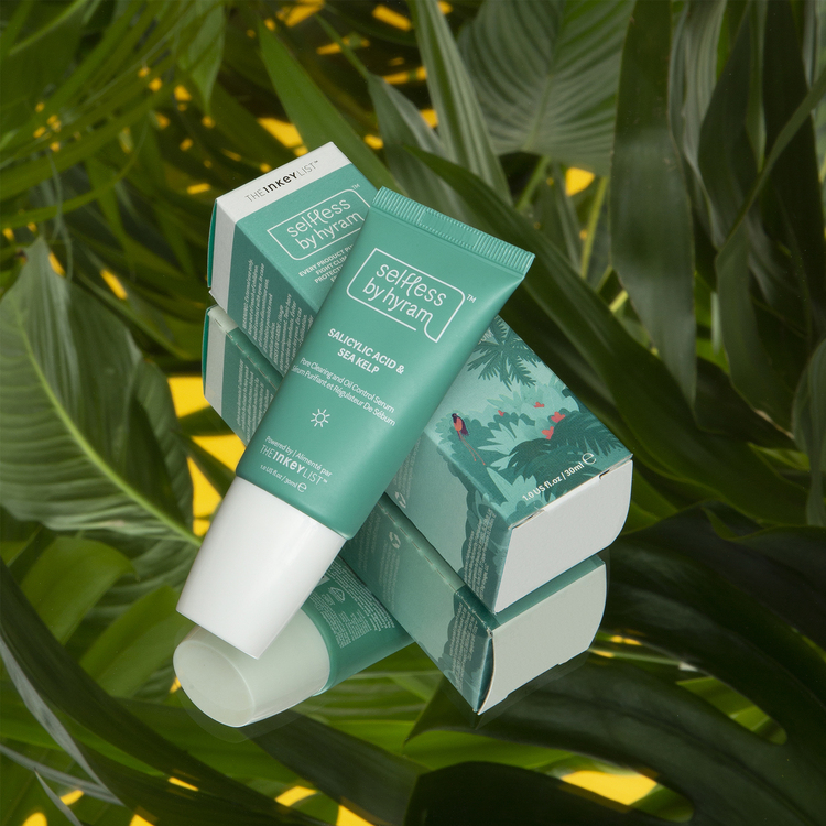 Salicylic Acid & Sea Kelp Pore Clearing and Oil Control Serum tube and packaging