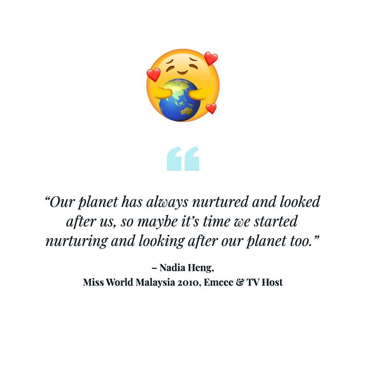Love our planet emoji